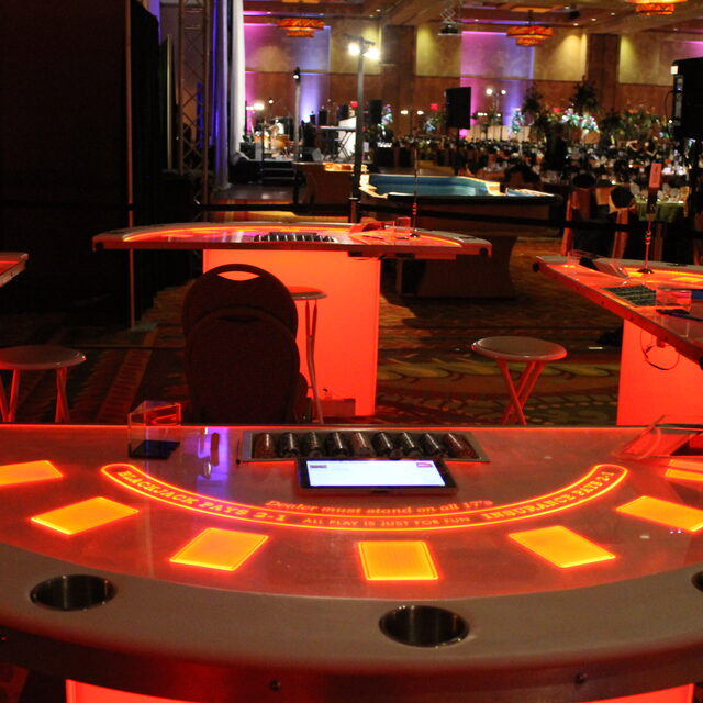 LED CASINO TABLES
